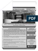 Caderno de Questões - Conhecimentos Básicos Para o Nível Superior - Tipo I0 (1)
