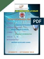 Actividad ColaboQUIMICA FARMACEUTICArativa de La Primera Unidad