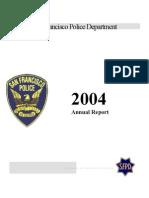 sfpd_2004 annual report