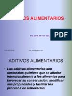 ADITIVOS ALIMENTARIOS 2014