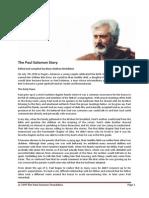 Paul Solomon Biography MSMG 1009