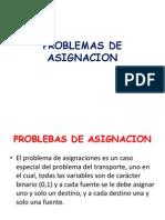 8.- Metodo de Asignacion