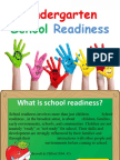 kindergarten school readiness