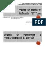 Centro de Produccion y Transformacion de Lacteos Plot