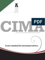 CIMA Program Brochure