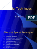 PNF Special Techniques