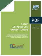 ESTADISTICA UNIVERSITARIAS