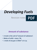 The Whole of Developing Fuels in One Powerpoint! (1)