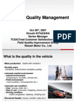 NISSAN Quality Management