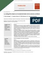 Rx Simple en Estudio Dolor c. Vertebral (2)