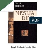 Frank Herbert - Mesija Dine
