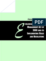 Handbook on RA 9003 from EcoGov Project