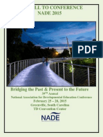 nade 2015 call to conference final