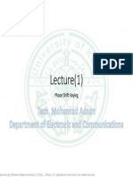 Lecture1_by Mohannad Adnan_University of Kufa _ Faculty of Engineering Electronic and Communications