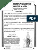 .'. Convocatoria a Liberales de Todo El País .'.