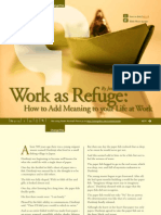 Work as Refuge-How to Add Meaning to Your Life at Work