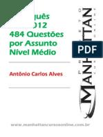 Exercícios de Português - FCC 2012
