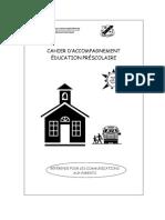 Preschool Booklet Fr