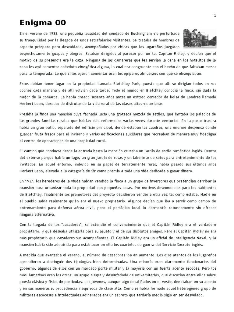 Enigma (Historia de La Máquinas Criptográfica)