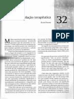 Prática Psiquiátrica - A relação terapeutica