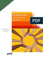 PWC 2015 Budget Synopsis