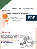 Control de Velocidad de Motor Asincrono