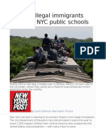 Flood of Illegal Immigrants Pour Into NYC PublicSchools