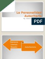 La Personalidad Autoritaria
