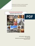 Ensayo. Civilizaciones Mesoamericas.22!11!2014