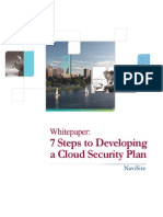 Cloud Security Plan