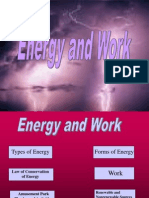 Energy and Work Sci Club