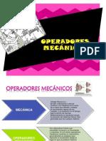 OPERADORES MECANICOS