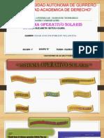 Sistema Operativo solaris
