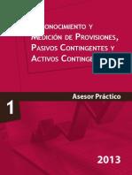 NIC 8-Reconocimiento y Medicion de Provisiones, Pasivos Contingentes y Activos Contingentes