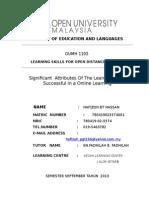 Skill Learning Assgmnt