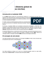 Estandar Gsm Sistema Global de Comunicaciones Moviles