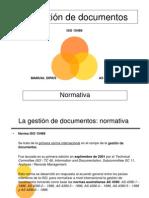 La gestión de documentos - Normativa