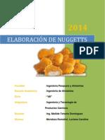 Elaboracion de Nuggets