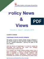 Economic Policy News and Views January 2010