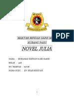 Novel Julia Tingkatan 5