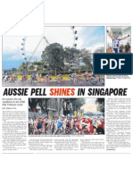 Aussie Pell shines in Singapore, 23 Feb 2009, Straits Times