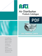 Variavle Air Volumn(VAV)-Asli Product Catalog