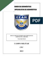 CFC - REGULAMENTO INTERNO DOS SERVIÇOS DA AERONÁUTICA - RCA 34-1 RISAER