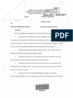 Deters Motion for Contempt 02032014