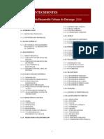 Programa de Desarrollo Urbano de Durango 2020