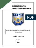 CFC - REGULAMENTO DISCIPLINAR DA AERONÁUTICA - RDAER