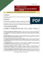 Uso de Fuentes Radiactivas No Selladas en Medicina Nuclear, Norma UY 105