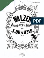 JBrahms Waltzes Op.39 Fe Bdh