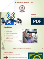DEA Analysis of Indian Telecom Industry