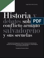 Libro_Historia y Debates Sobre El Conflicto Salvadoreño
